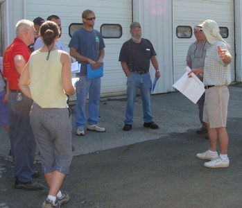Stormwater Training Session at Aables in 2013